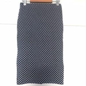 ZARA Geometric Pencil Skirt Size Small